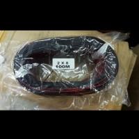 kabel serabut isi 2 1roll 100meter 2x8 merah hitam kabel speaker 2 x 8