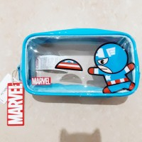 MARVEL x MINISO Big Purse / Pouch Captain America Avengers LIMITED