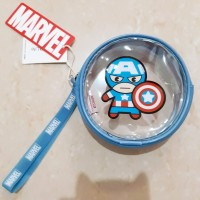 MARVEL x MINISO Coin Purse / Pouch Captain America Avengers LIMITED