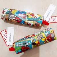 MARVEL x MINISO Pencil Case / Tempat Pensil Kulit Avangers LIMITED