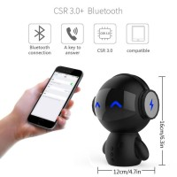Speaker Bluetooth Portable + Power Bank Model Robot 2 in 1 Unik