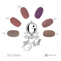 Madame Gie Nail Shell Peel Off - Skin Series [ isi 6 pc ] BPOM