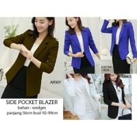 SIDE POCKET BLAZER