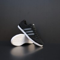 ADIDAS NEO CAFLAIRE BLACK STRIP GREY ORIGINAL