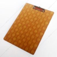Clipboard / Papan Jalan / Alas Ujian F4 (Folio) - Samoyed