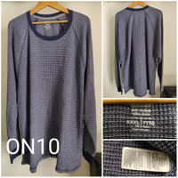Kaos Lengan Panjang Old Navy Thermal Knit Big Size Original - ON10