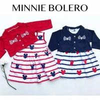 Minnie Bolero / Dress Anak Bayi Lucu Murah / Baju Bayi Perempuan