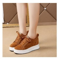 Sepatu Wanita Kets Casual SDS256 Tan