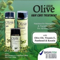 Paket OLIVE 3in1 Oliv shampo + conditioner hair tonic