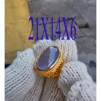 batu akik LAVENDER BATURAJA (purple baturaja)