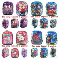 tas sequin Anak bisa berubah gambar tas sekolah tas my little pony