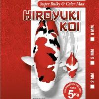 Pakan/ pelet Ikan Hiroyuki Super Bulky & Color Max - L 8 Mm