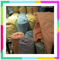 SS bedcover marshmallow selimut dapat kantong