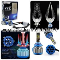 LAMPU LED FOGLAMP TURBO LED T1 SOCKET H11 H8 H9 ISI 2 PC