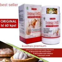 obat herbal khasiat ampuh mengobati darah tinggi kapsul bawang putih
