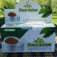 obat herbal khasiat ampuh teh daun salam alami original berkualitas
