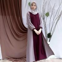 Baju Hijab Wanita Baju Gamis Syari Baju Long Dress Cewek Murah AD4