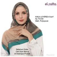 Hijab Jilbab Kerudung Segi Empat KAILA LOVERIZA Scarf ELZATTA Original