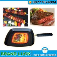 Alat Panggang SUPRA Square Grill Rosemary Pan 27cm Elegan Teflon Kotak