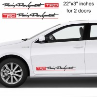 Sticker Trd Racing Develpoment Sticker Mobil Toyota Aksesoris