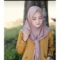 Jilbab segitiga instant warna dusty Hijab Wanita Murah Dan Terjangkau