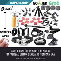 Aksesoris Lengkap Xiaomi Yi Gopro Action Cam
