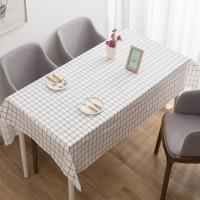 Taplak Meja Plastik Anti Air Kotak Square Waterproof Tablecloth