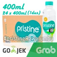 Pristine water 400 ml x 24 botol+air minum pristine+air alkali (1 Dus)
