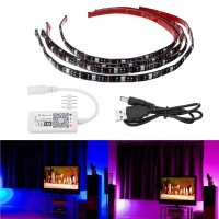 LED Strip ARILUX 4PCS 5050 IP65 WiFi Controller RGB USB Light TV