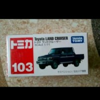 Tomica reguler no 103 Toyota Land Cruiser