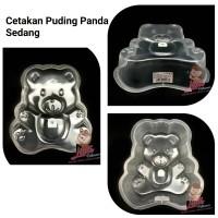 Cetakan Puding Panda Sedang/Cetakan Jelly Art/Cetakan Puding Beruang