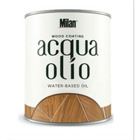 Finishing Kayu Waterbased Milan Acqua olio vernish kayu natural oil