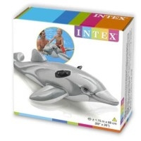 Intex Dolphin Ride On 1.75m. Ban Pelampung Renang Duduk Anak