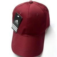 Topi Polos Hitam Baseball Cap Black Murah Pria dan Wanita