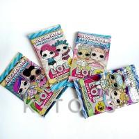 Mainan anak perempuan kartu trading card LOL L.O.L