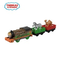 Thomas & Friends TrackMaster Animal Party Percy - Mainan Kereta Anak