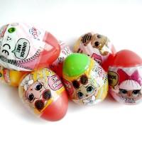 mainan telur surprise LOL mainan kejutan surprise egg