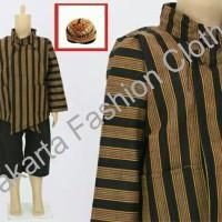 Setelan Baju + Celana + Blangkon + Surjan Lurik Anak XXXL