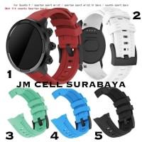 Tali Sport Rubber Strap Untuk Jam Tangan Suunto 9 - Spartan Sport - 1 Red