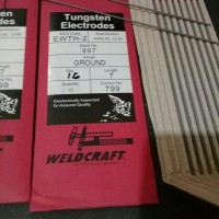 Tungsten weldcraft