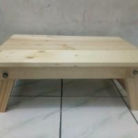 Meja Belajar Lesehan Kayu Jati Belanda home furniture