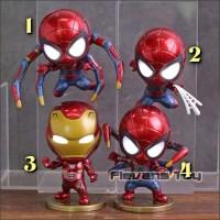 action figure Marvel cosbaby iron spider Ironman Spiderman pajangan