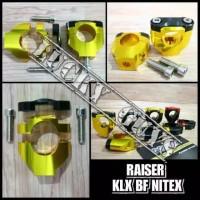 Raiser Stang Fatbar Nitex Full CNC Kaki 1 Universal