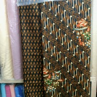 Batik potongan corak classic