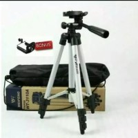 Weifeng tripod WT-3110A Tripod untuk hp camera universal+free holder U