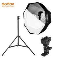 Godox Paket Umbrella Okta Softbox 95cm - Light Stand & Flash Holder B