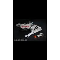 Breket Kaliper WR3 Depan Honda CBR250rr ABS With Brembo 4P1P OriginaL
