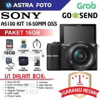 SONY ALPHA A5100 / SONY A5100 KIT 16-50 GARANSI RESMI 1th 16GB
