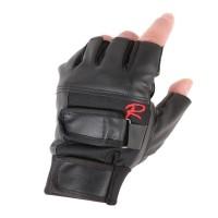 Sarung Tangan Motor Racing / Sarung Tangan Kulit Model Type R Hitam
