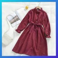 tunik 4 pilihan warna maroon/ atasan wanita blouse muslim / baju hijab